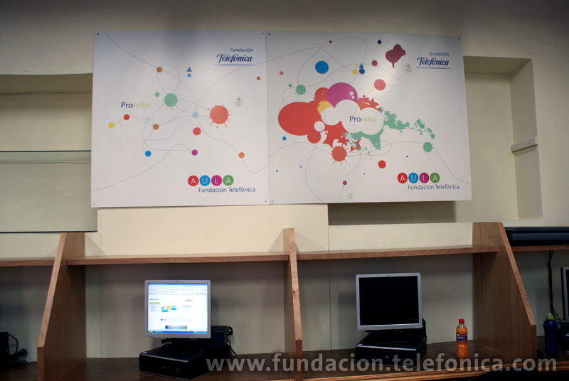 Durante el mes de marzo, Fundación Telefónica México inauguro 3 Aulas Fundación Telefónica