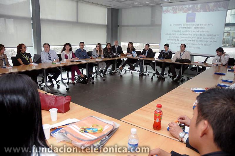 Fundación Telefónica  y Junior Achievement acercan a los jóvenes a la realidad empresarial.