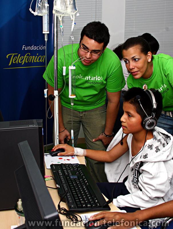 Fundación Telefónica propicia apoyo interdisciplinario a favor de niñas, niños y adolescentes hospitalizados