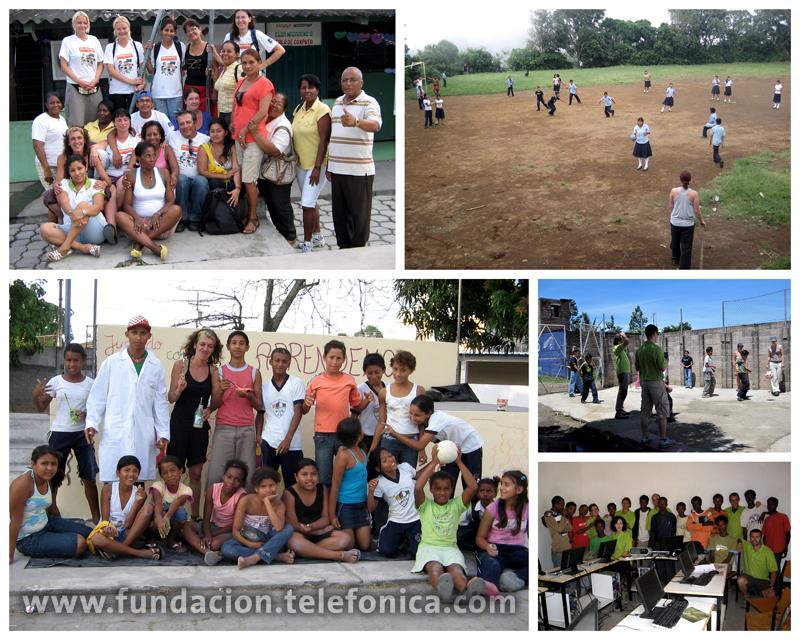 Por sexto año consecutivo, Voluntarios Telefónica de todos los países del Grupo destinarán su período de vacaciones, durante 3 semanas, en proyectos en Latinoamérica colaborando con el programa Proniño.