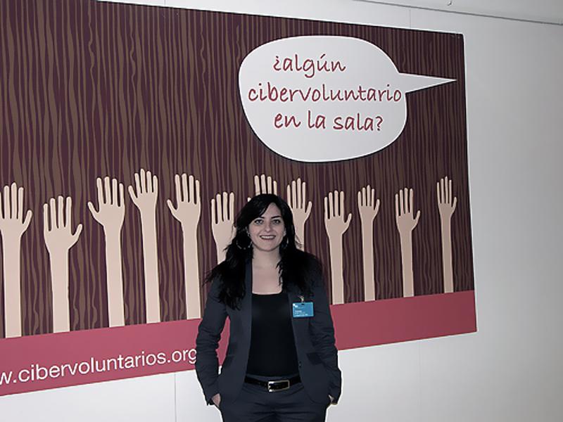 Yolanda Rueda. Presidenta de Fundación Cibervoluntarios, organización que desde 2001 desarrolla un importante trabajo de ayuda a los colectivos menos familiarizados con la tecnología.