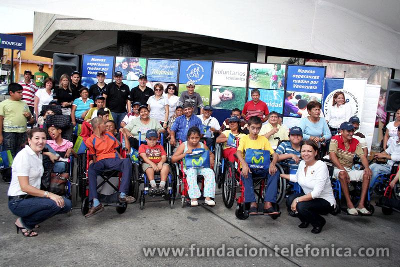 Fundación Telefónica y Fundaprocura ponen a rodar nuevas esperanzas por Barinas.