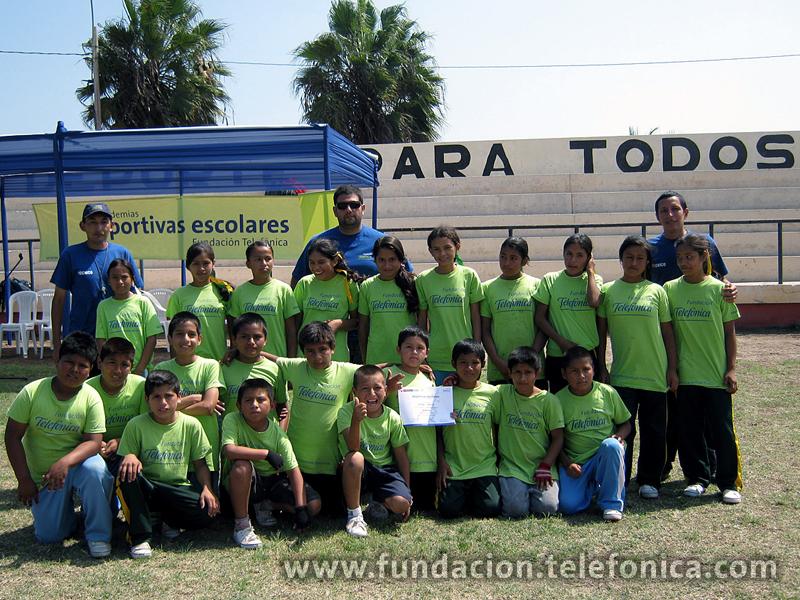 Diez años de deporte. Diez años con la niñez peruana
