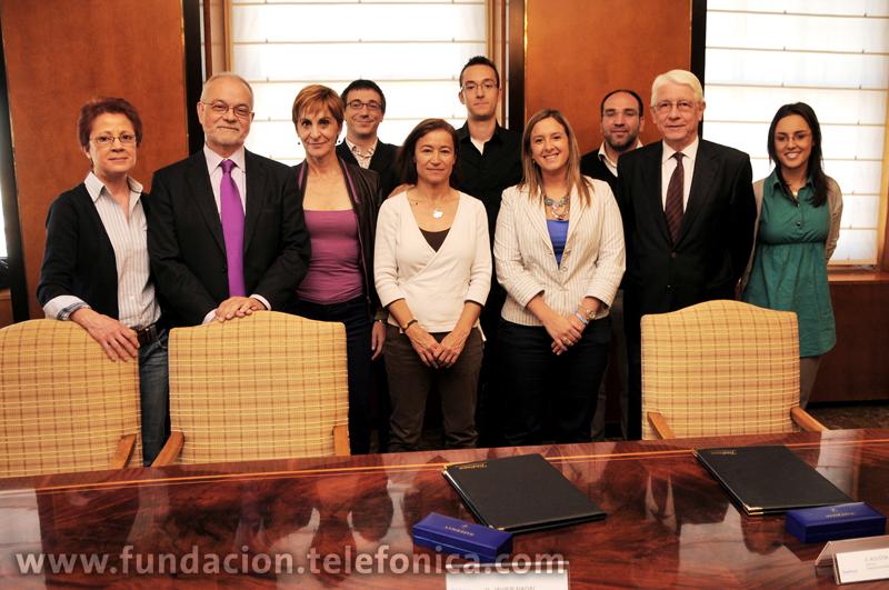 """Fundación Telefónica y la ONG """"Entreculturas"""" colaborarán en la formación y selección de nuestros voluntarios."""