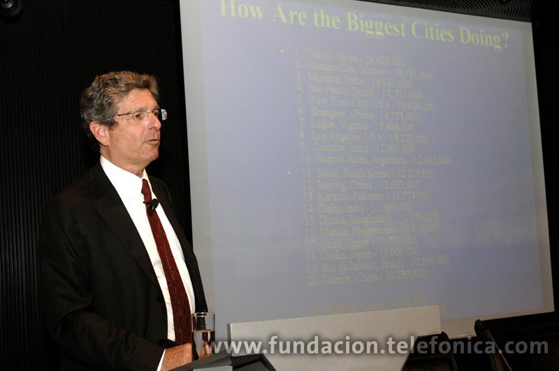 El presidente ejecutivo de la Academia de las Ciencias de Nueva York, Ellis Rubinstein.