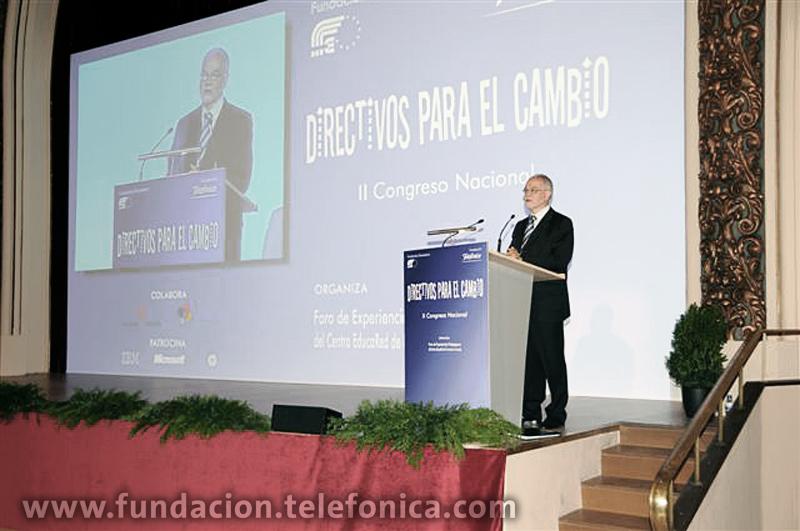 Fundación Telefónica y Fundación Encuentro organizan en Madrid el II Congreso Nacional de Directivos Escolares