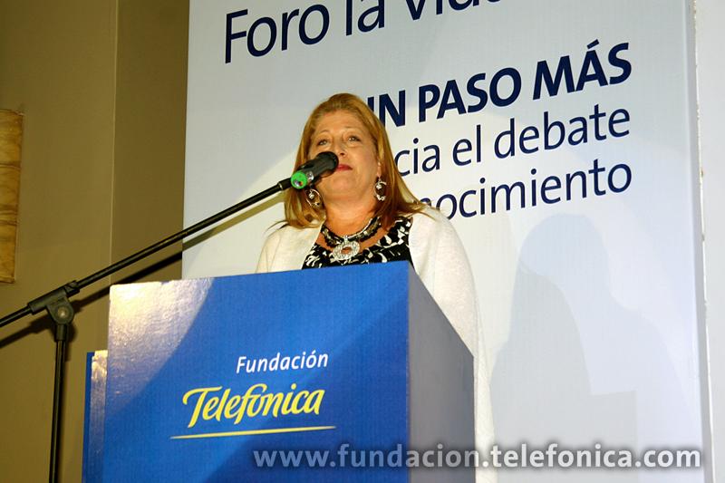Giovanna Bruni, Gerente General Fundación Telefónica Venezuela.