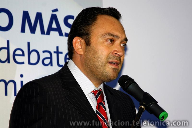 Douglas Ochoa, Vp Comunicaciones Corporativas y Fundación Telefónica, Venezuela.