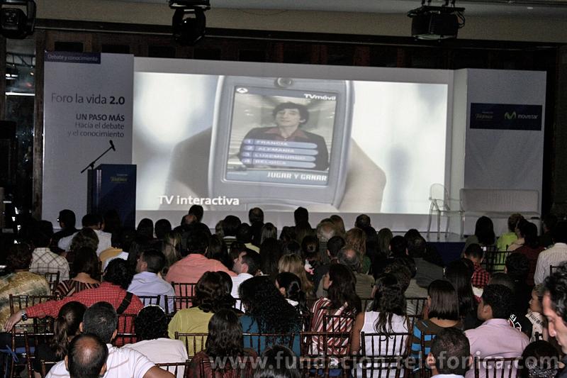 Foro: La Vida 2.0, la comunicación en el mundo digital.  Caracas, Venezuela.