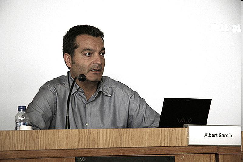 Albert García Pujadas. Socio de Nikodemo(empresa de contenidos de animación ), creadora de Calico Electronico.