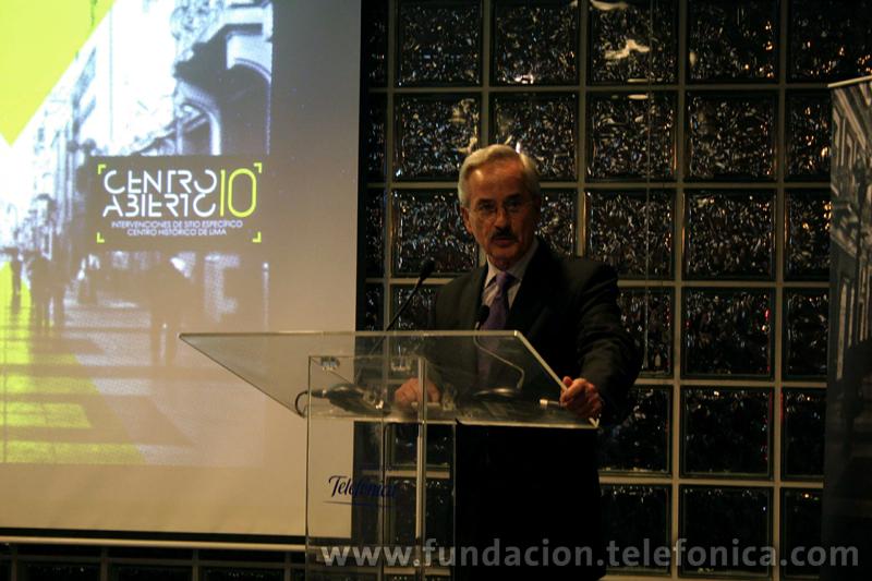 Ludwig Meier, director de Relaciones Institucionales y Comunicación Corporativa de Telefónica en el Perú.