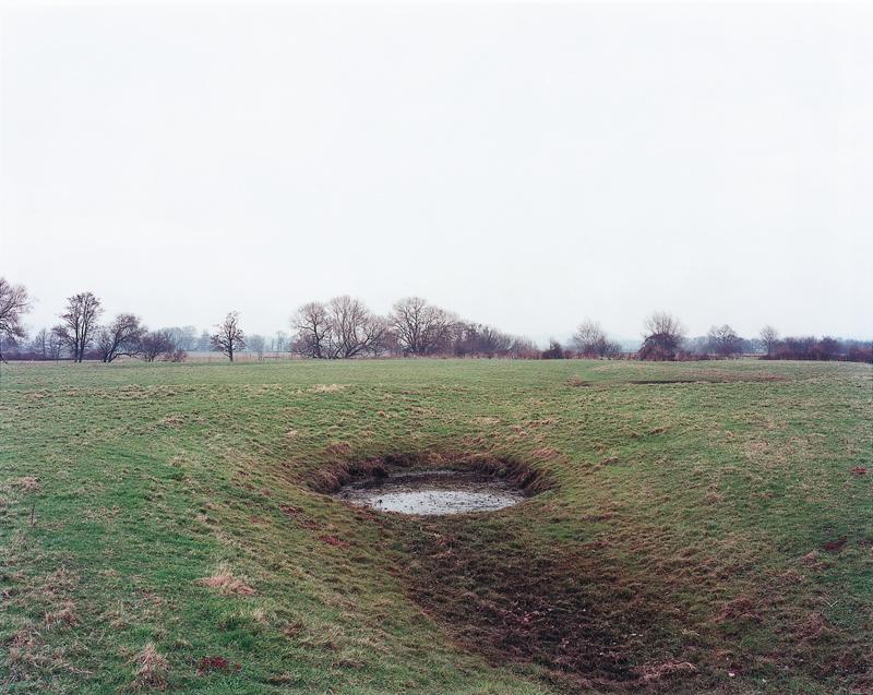 Brampford Speke, 1997, de la serie Ponds_© Jem Southam.