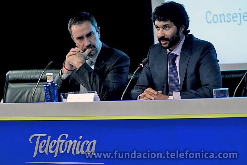 El director de Debate y Conocimiento de Fundación Telefónica, José de la Peñ