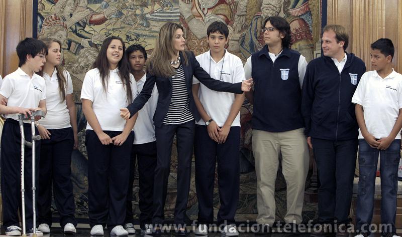 Se trata de niños y niñas procedentes de Colombia y Uruguay que forman parte del programa Proniño, la principal iniciativa desarrollada por una empresa privada para luchar contra el trabajo infantil en Latinoamérica.