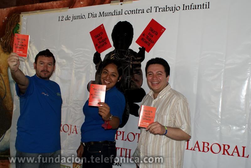 En Proniño sacamos tarjeta roja al trabajo infantil.