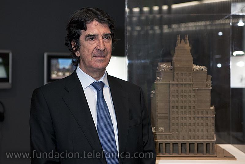 Francisco Serrano, Director General de Fundación Telefónica.