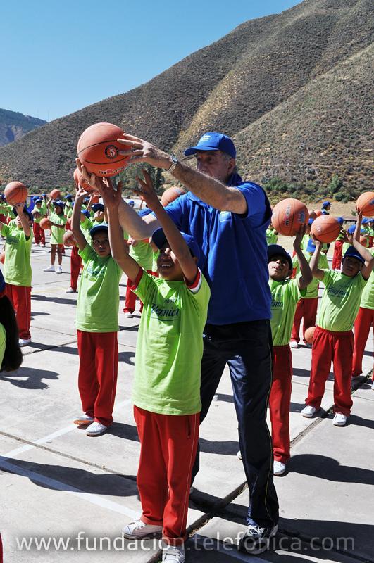 Ricardo Duarte, coordinador del programa de Academias Deportivas Escolares Fundación Telefónica en