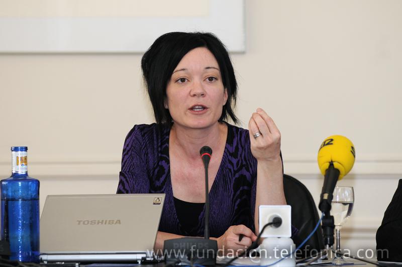 Sue Gardner, directora ejecutiva de la Fundación Wikimedia.