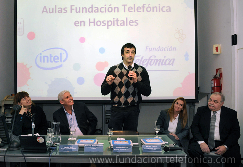 Fundación Telefónica capacita en el uso de las nuevas tecnologías para escuelas hospitalarias y domiciliarias