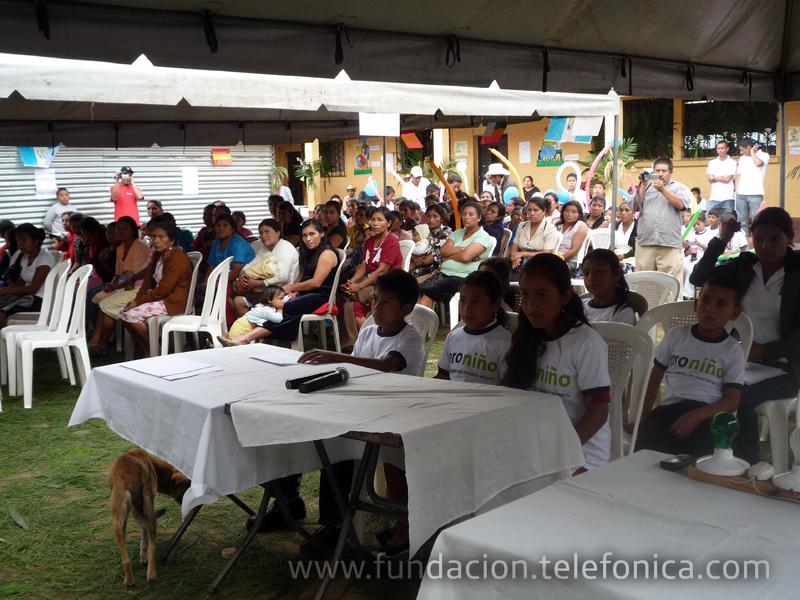 Para conmemorar el Día contra el Trabajo Infantil que se celebra el 12 de junio, Fundación Telefónica organizó un Foro Proniño en Jalapa, el cual se celebró hasta en el mes de Julio debido a las consecuencias del paso de la Tormenta Agatha en