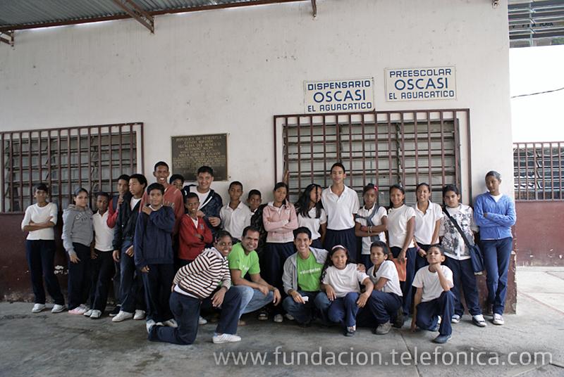 Los Voluntarios Telefónica de Venezuela que acompañaron a los jóvenes fueron: César Suárez, Anthony Choque, Ana Cerchione, Roberto Hernández,  Juan Vizcaíno y Carlos Sanguino.