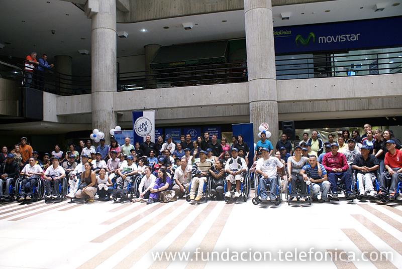 Fundación Telefónica y Funda Pro-Cura ponen a rodar Nuevas Esperanzas por Caracas.
