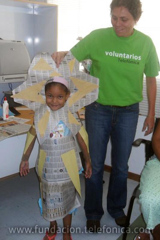 Fundación Telefónica y sus voluntarios compartieron juegos y alegría con pacientes del Hospital J. M. de los Ríos.