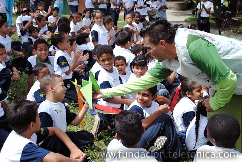 Fundación Telefónica celebró inicio de vacaciones de estudiantes Proniño.