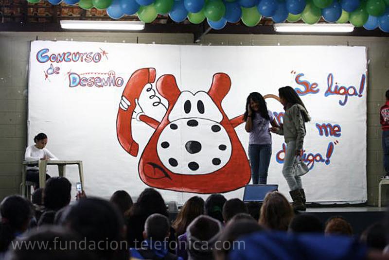 Fundación Telefónica da a conocer a los ganadores del concurso de dibujos de Suzano.