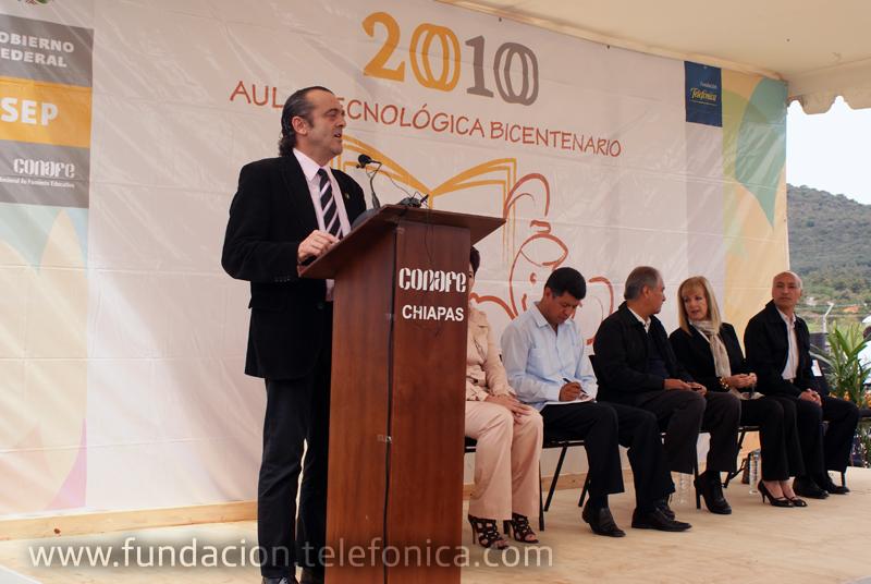El Director de Fundación Telefónica México, José Antonio Fernández Valbuena.