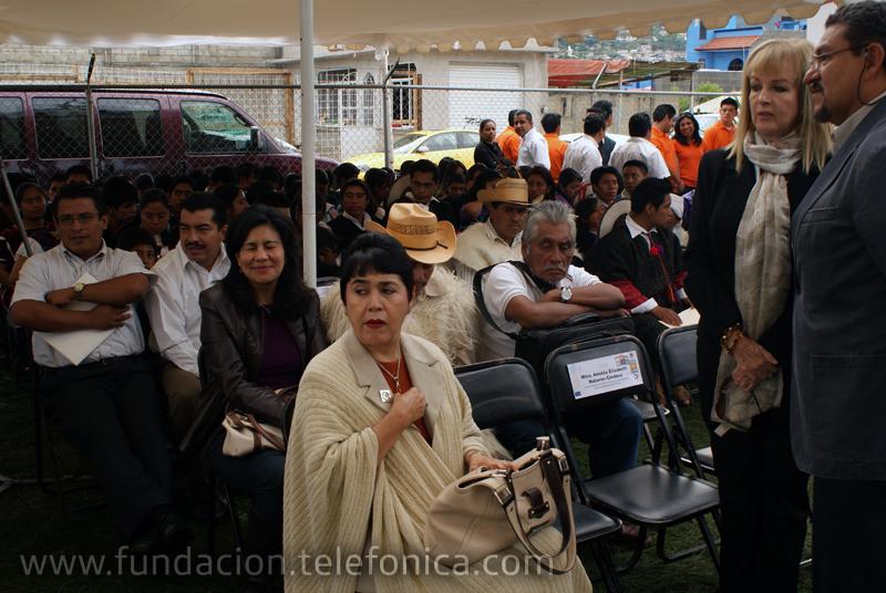 El Aula Tecnológica Bicentenario se instaló en las oficinas de CONAFE en San Cristóbal de las Casas.