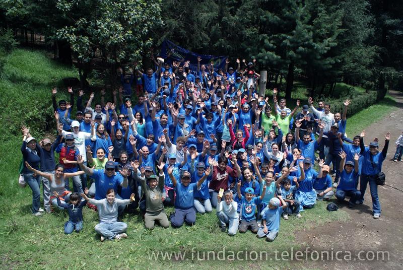 Una vez más, los voluntarios se unen a favor del medio ambiente.