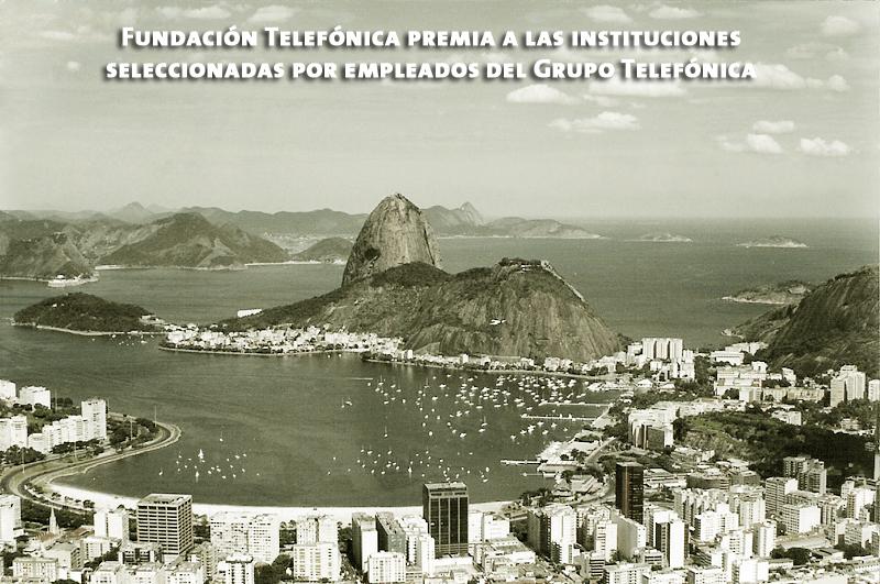 Fundación Telefónica premia a las instituciones seleccionadas por empleados del Grupo Telefónica.