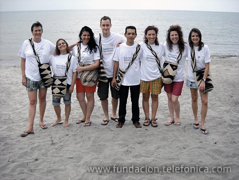 Culminan con éxito las Vacaciones Solidarias de Voluntarios Telefónica.