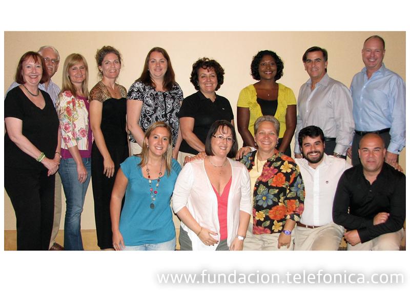 Miembros del  Consejo GCVC en la asamblea de Nueva York.