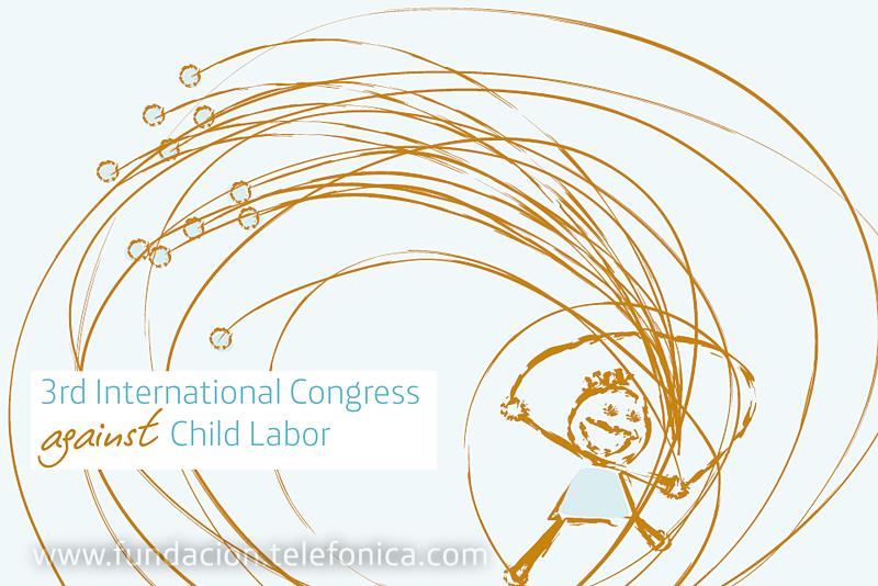 El III Encuentro Internacional contra el Trabajo Infantil, organizado por Fundación Telefónica, comienza hoy en Internet.