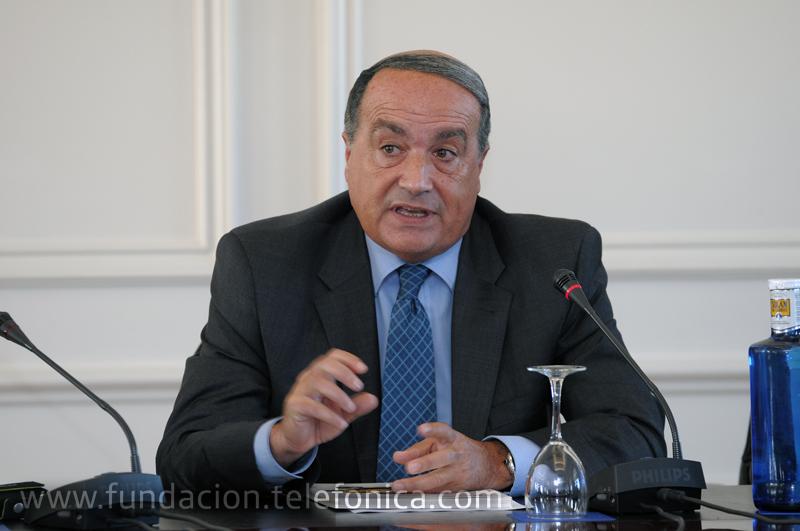 El presidente de Corporación Multimedia, Eduardo García Matilla.
