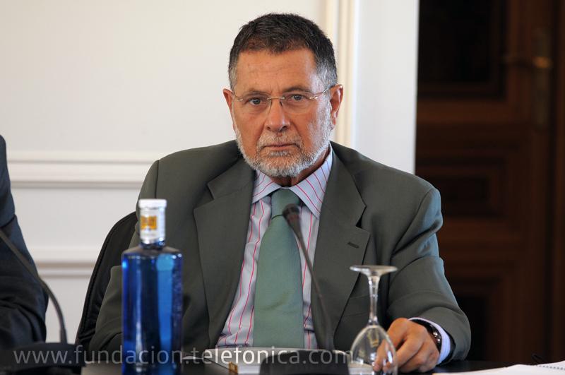 El editor adjunto de la revista y profesor titular de Periodismo de la Universidad Carlos III de Madrid, José Fernández Beaumont.