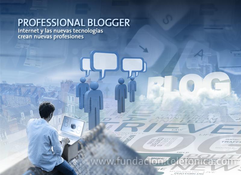 """Professional Blogger. Quinta conferencia del ciclo """"Internet y las nuevas tecnologías crean nuevas profesiones"""""""