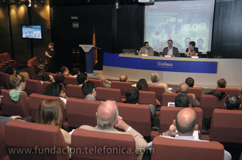 """5ª Jornada del Ciclo """"Internet y las Nuevas Tecnologías crean nuevas profesiones""""."""
