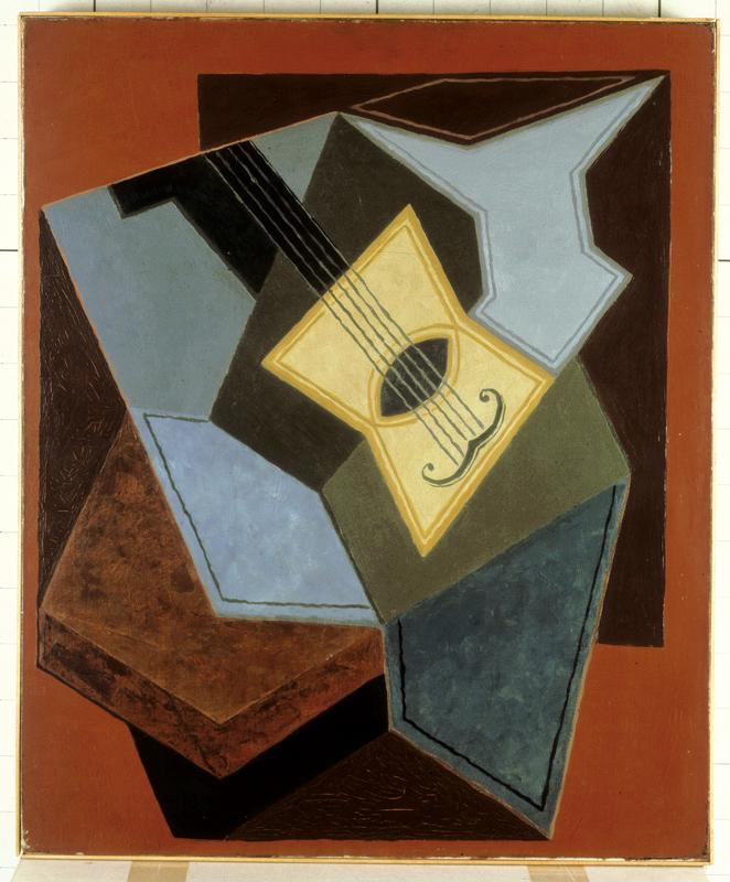 Juan Gris, Guitare et compotier (1926-27).