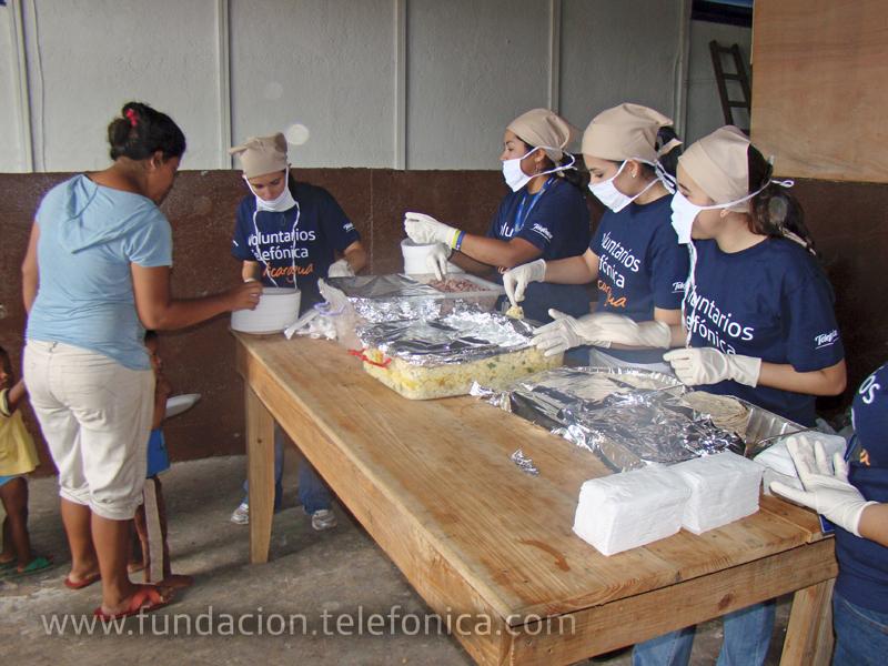 En Nicaragua las actividades fueron esencialmente de asistencia tras el huracán Matthew.