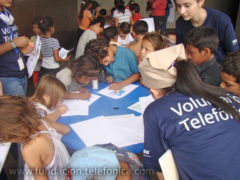 A través de esta iniciativa, Telefónica manifiesta su compromiso con la sociedad mediante la participación activa de sus colaboradores.