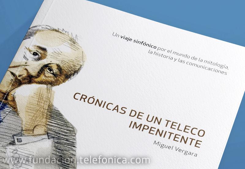 """Presentación del libro """"Crónicas de un teleco impenitente""""."""