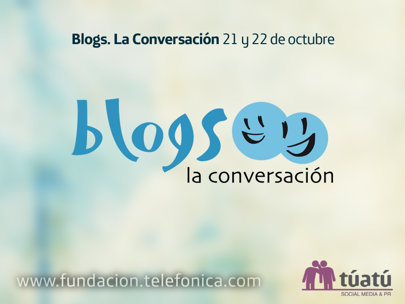 "Evento ""Blogs. La Conversación"""