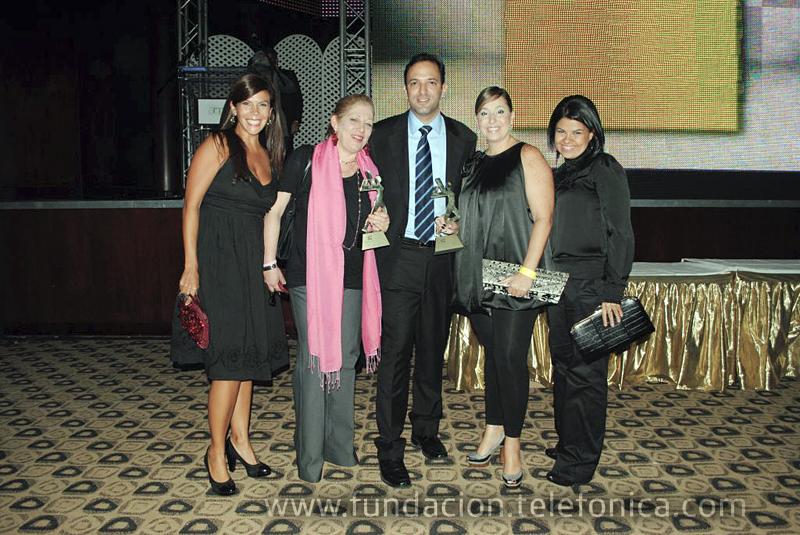 Fundación Telefónica recibió por segundo año consecutivo el premio ANDA como mejor programa de Responsabilidad Social Empresarial.