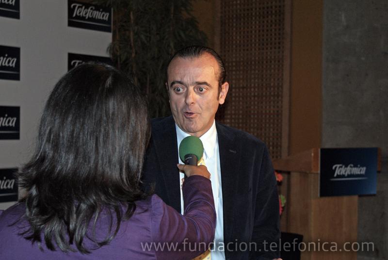 El director de Fundación Telefónica México, José Antonio Fernández.