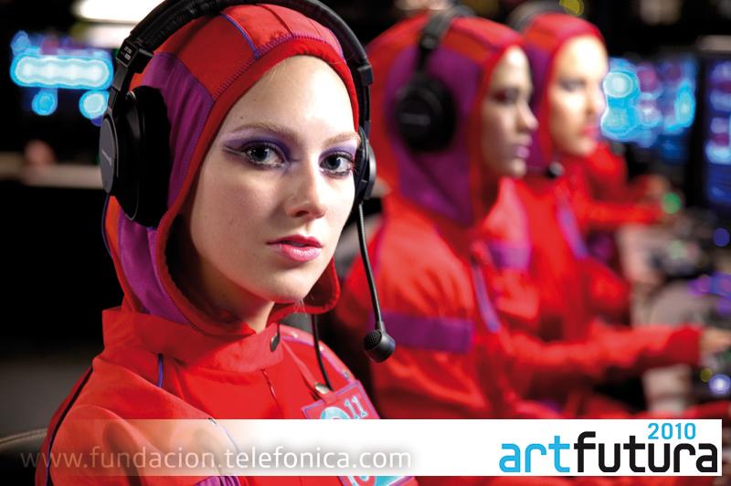 Fundación Telefónica participa un año más en las actividades del festival ArtFutura con la proyección de un programa audiovisual