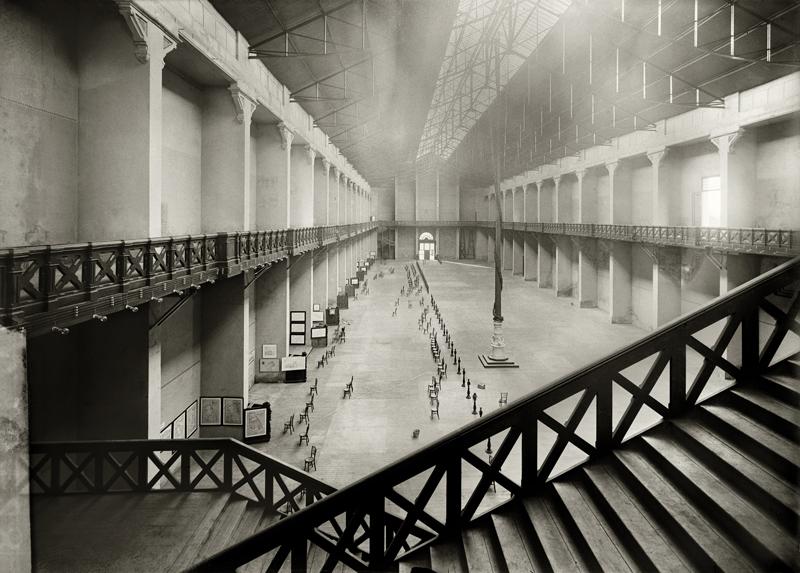 Palacio de la Industria, sede del Museo de Reproducciones Artísticas Barcelona, 1915-1919 © Brangulí / ANC, 2010.