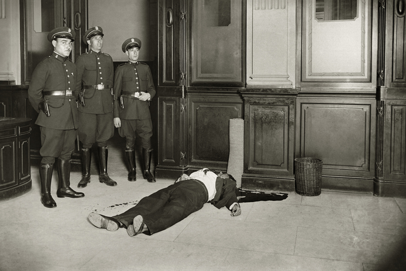 Suicidio en Banca Arnús, Barcelona, 1934 © Brangulí / ANC, 2010.